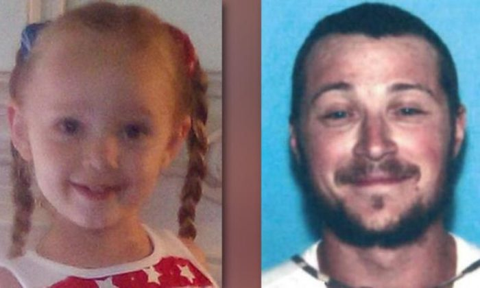 Police said Gracelynn June Scritchfield was abducted by her biological father Arlie Hetrick III. (West Virginia State Police)