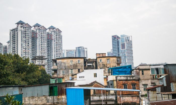 A city in Guangdong Province, China. (Betsy Joles/ Getty Images)