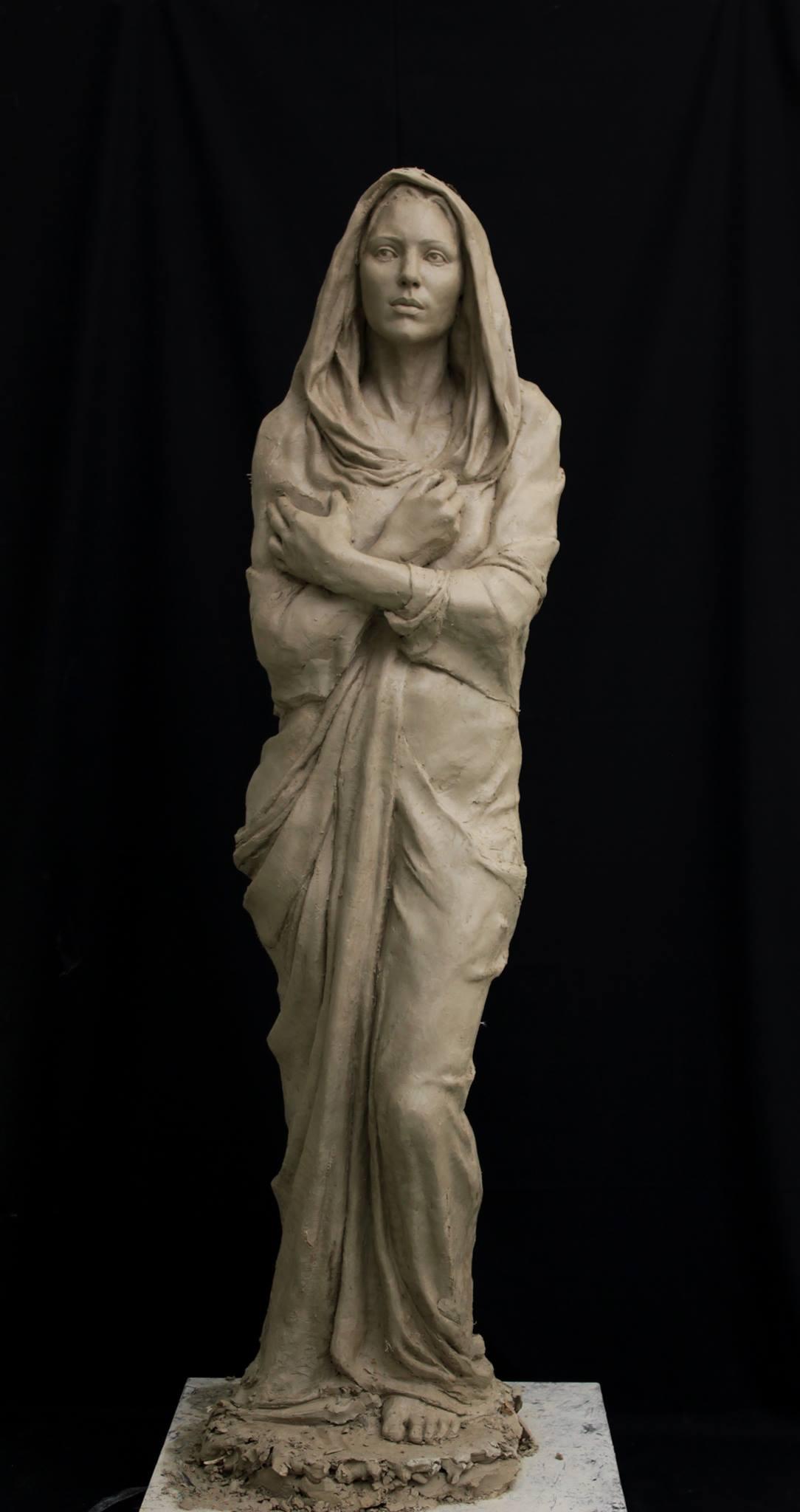Johanna Schwaiger-statue of lady M