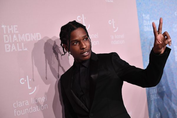 A$AP Rocky attends Rihanna's 4th Annual Diamond Ball