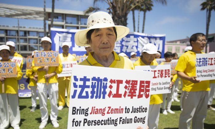 Falun Gong practitioner Li Shuying in Santa Monica, Calif., on July 21, 2019. (Yuan Ji/The Epoch Times)