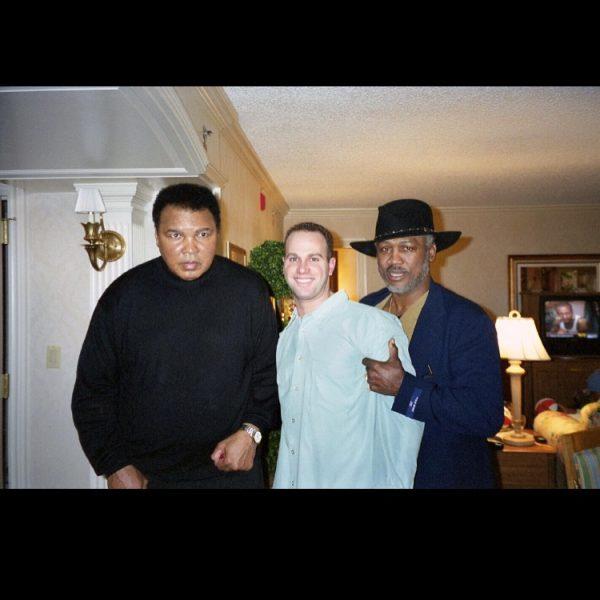 In Ali's suite