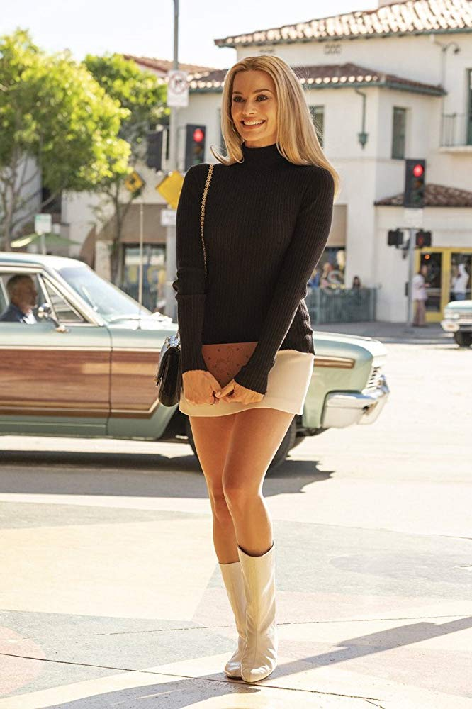 woman in miniskirt