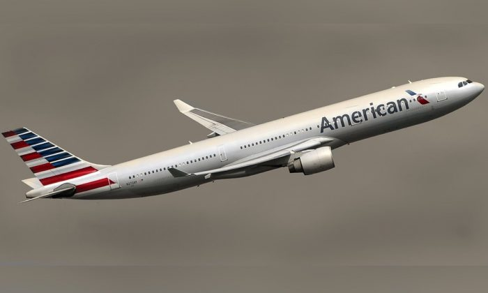 Stock image of an American Airlines plane. (Bilaleldaou/Pixabay)