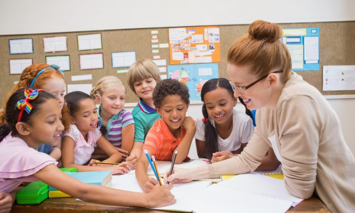 Great teachers care about their students. They set high standards and challenge the students to meet them.  (Shutterstock)