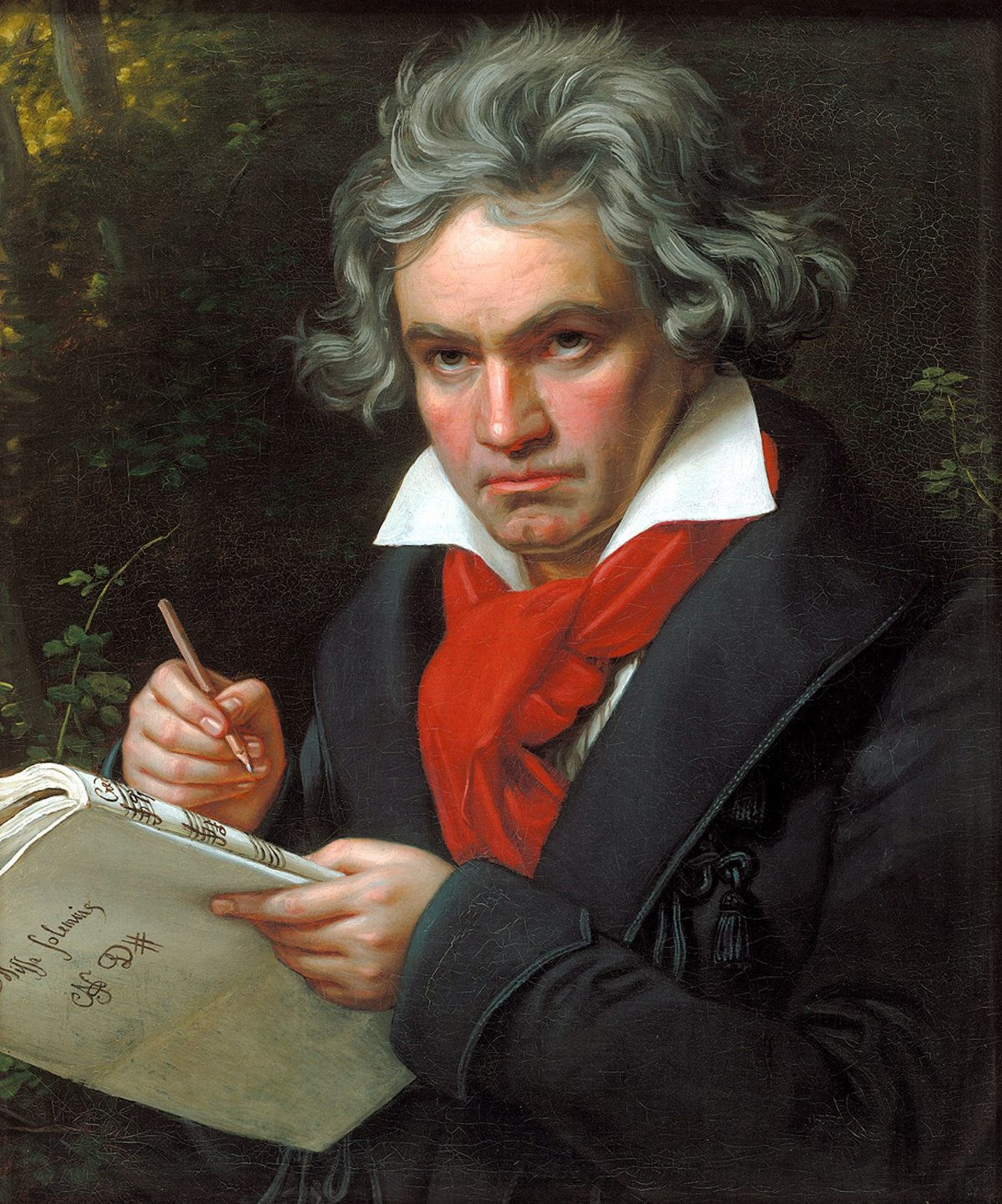 Beethoven painting