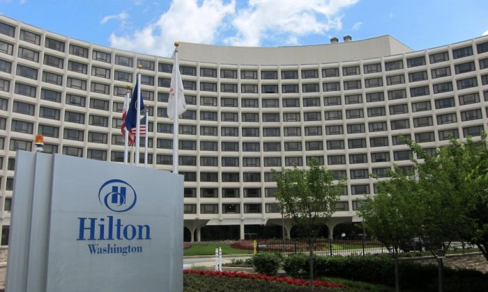 A photo of Hilton Hotel in Washington. (Wikimedia Commons)