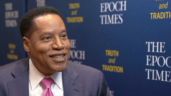 [WCS Special] Larry Elder on His New Show With The Epoch Times; Tackling Racism & Reparations