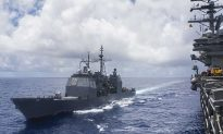 US Warship Sails Through Strategic Taiwan Strait Amid China Tension