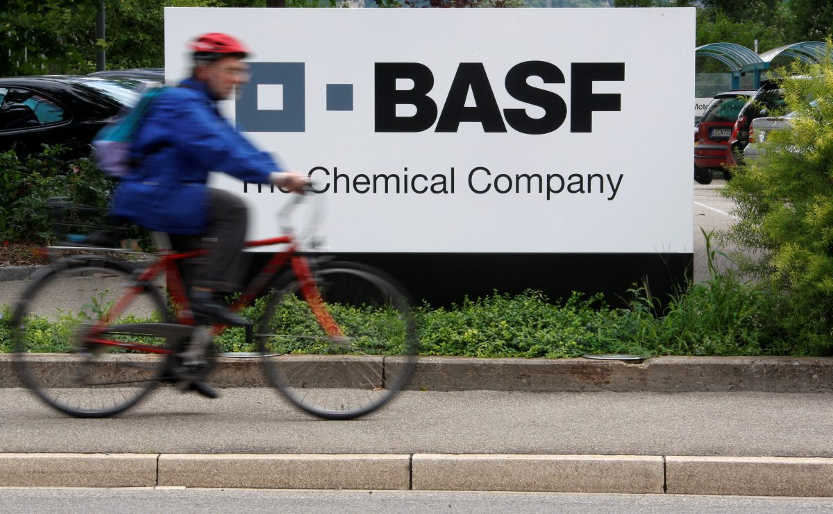 FILE PHOTO:BASF plant in Schweizerhalle, near Basel, Switzerland