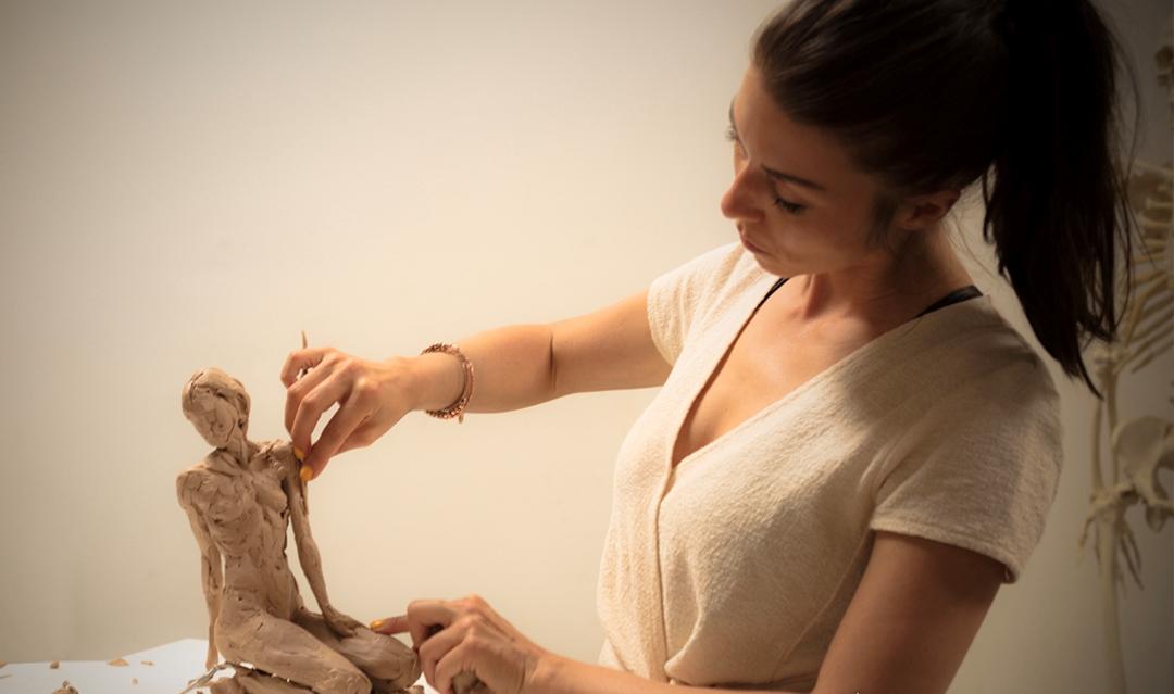 Johanna Schwaiger working