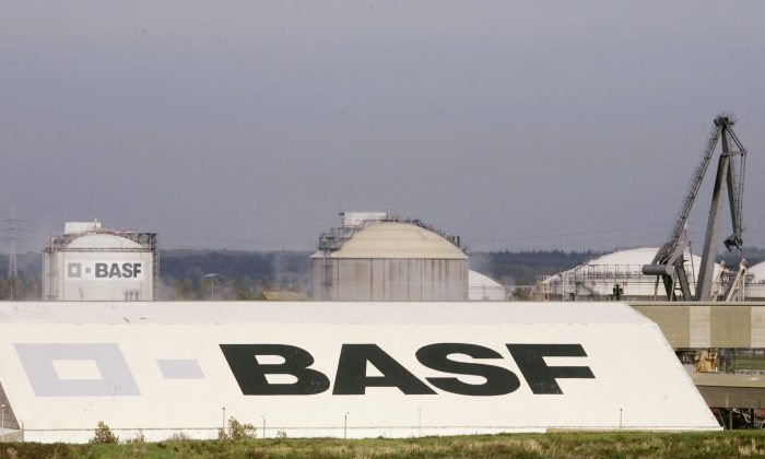 A general view of  BASF at the Antwerp port in Antwerp, Belgium, on Oct. 26, 2006. (Mark Renders/Getty Images)