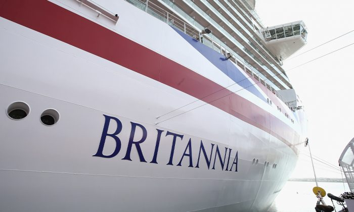 P&O's cruise ship Britannia. (Chris Jackson/Getty Images)