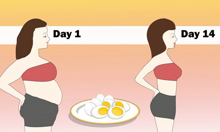 The boiled egg diet  (Illustration - The Epoch Times)
