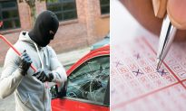 Thief Steals Sunglasses From a Car but Misses Million-Dollar Lottery Ticket Underneath