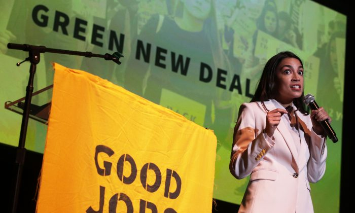 Rep. Alexandria Ocasio-Cortez (D-N.Y.) in Washington on May 13, 2019. (Alex Wong/Getty Images)
