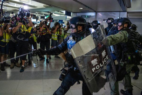 Yuen Long HK protests