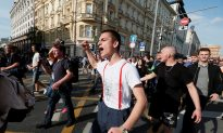Nearly 1,400 Detained in Moscow Protest; Largest in Decade