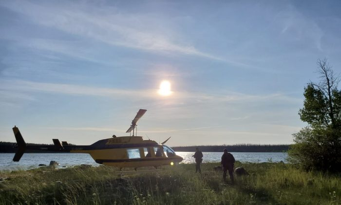 The search continues for two B.C. homicide suspects, with reported sightings in the community of York Landing, Manitoba. (Royal Canadian Mounted Police)