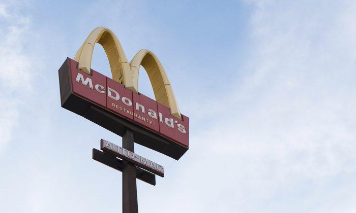File photo of a McDonald's sign. (Joiarib Morales Uc/Unsplash)