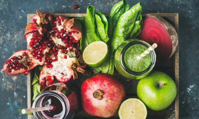 Fruits and vegetables are nutrient-dense foods that will help reduce inflammation and support your immune system. (Shutterstock)