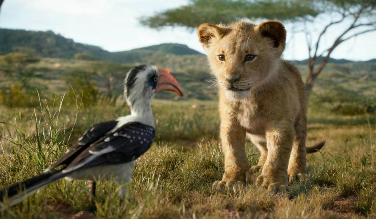 Zazu and Simba