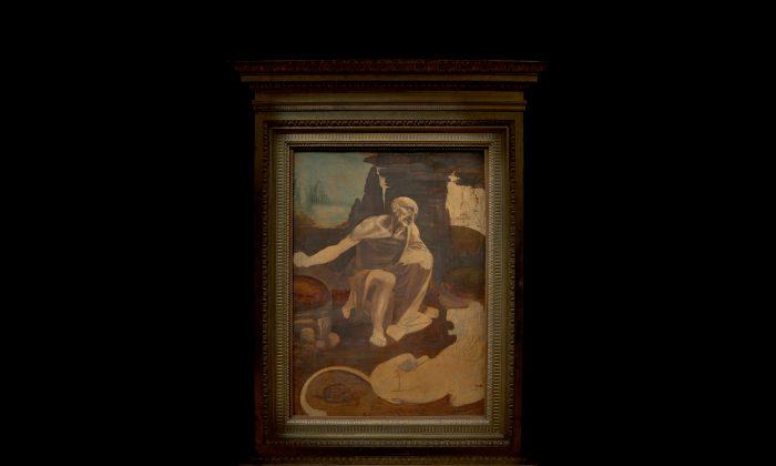 """Leonardo da Vinci's """"Saint Jerome"""" at The Metropolitan Museum of Art. (The Metropolitan Museum of Art)"""