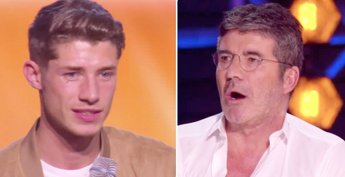 Singer at X-Factor Gets No From Simon  Then He Says, 'Can I Do