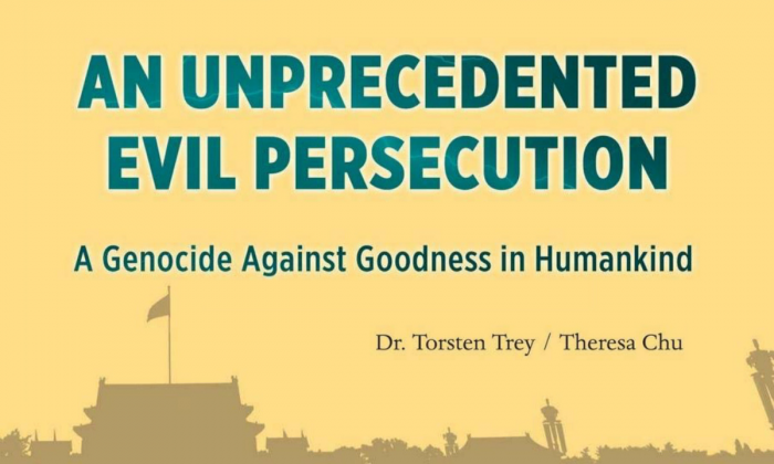 "Cover of the book ""An Unprecedented Evil Persecution"""