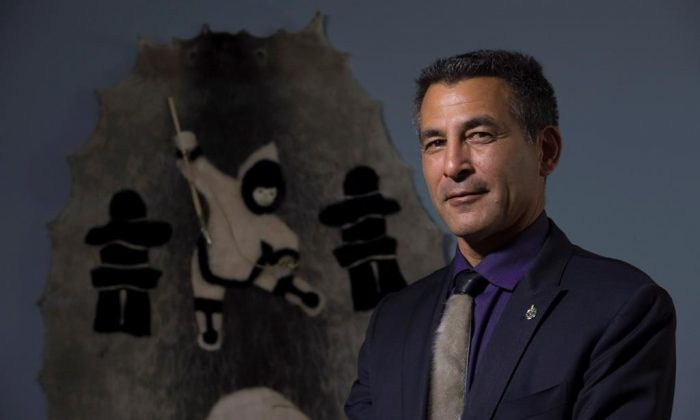Liberal Member of Parliament for Nunavut Hunter Tootoo poses for a portrait in his office in the Parliamentary precinct September 21, 2016 in Ottawa. (Adrian Wyld/The Canadian Press)