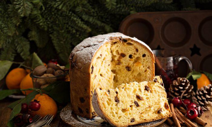 italian traditional christmas panettone