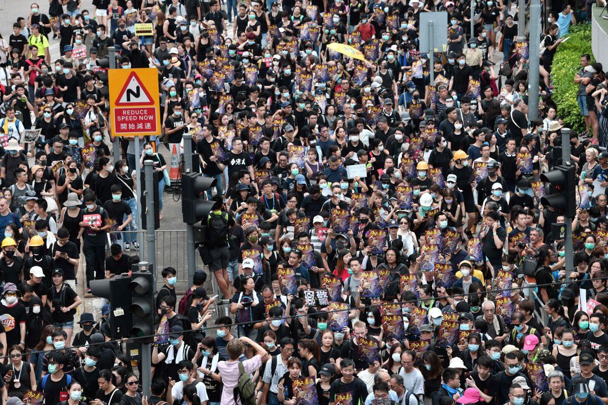 TOPSHOT-HONG KONG-CHINA-Protests