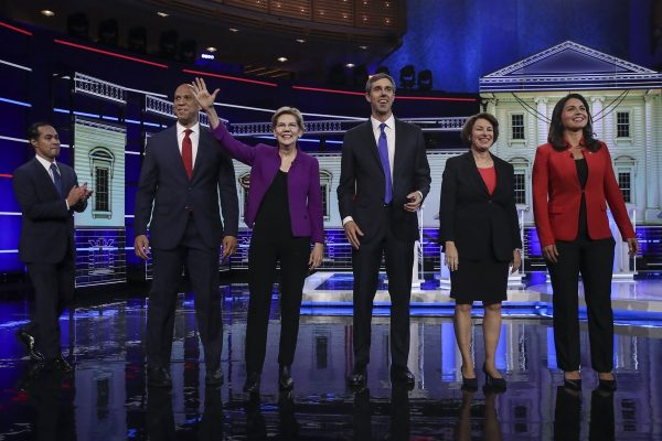 Democratic Presidential Candidates Participate In First Debate Of 2020 Election