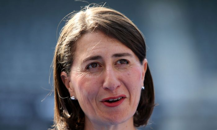 NSW Premier Gladys Berejiklian speaks to the media in Sydney, Australia, on Jan. 4, 2019. (Jason McCawley/Getty Images)