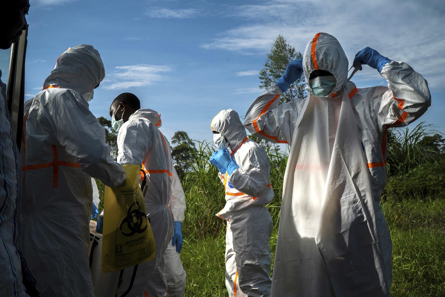Congo Ebola Photo Essay