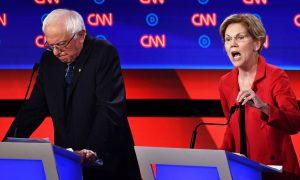 Elizabeth Warren Against Nuclear First Strike by United States