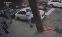Man Sprays NYPD Traffic Officers With Bottle in Latest Water-Dousing Video