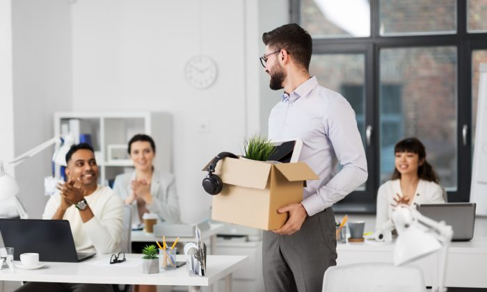 Leaving a job can be a healthy way to deal with a work situation that isn't working. (Syda Productions/Shutterstock)