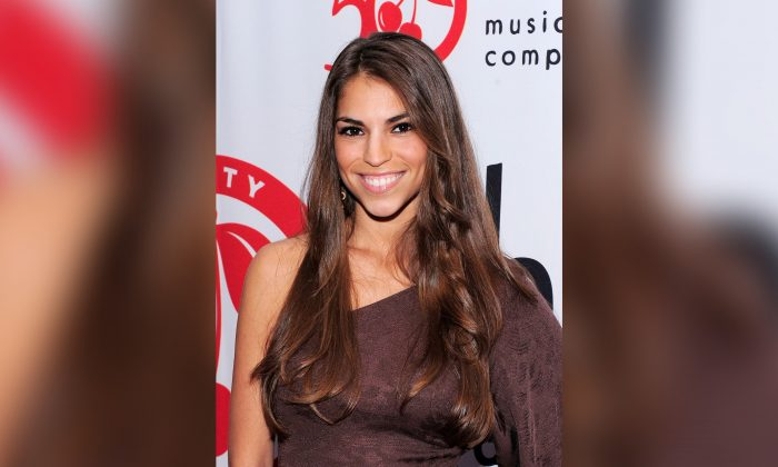 Antonella Barba poses on the red carpet at the Cherry Lane Music Publishing's 50th Anniversary celebration at Brooklyn Bowl in Brooklyn in New York City on May 19, 2010. (Jemal Countess/Getty Images)