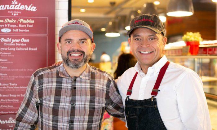 David (L) and José Cáceres, proprietors of La Panadería in San Antonio, Texas. (Karissa Rangel)