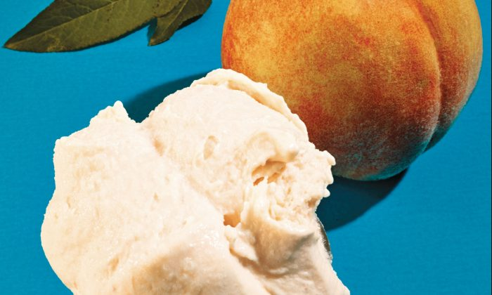 "Peach ice cream from ""La Grotta."" (Grant Cornett)"