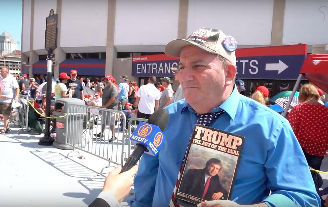 Georgetown man accused of punching Trump protestor in Cincinnati
