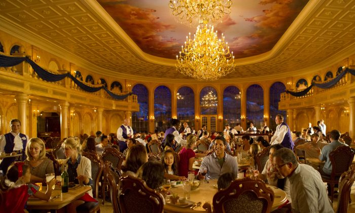 Magic Kingdom Guests Dine in Splendor at Be Our Guest Restaurant