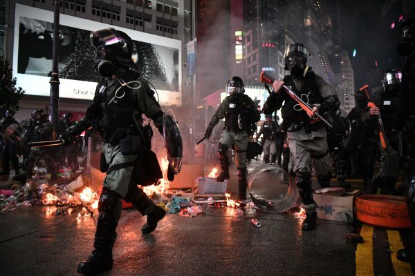 HONG-KONG-CHINA-POLITICS-UNREST