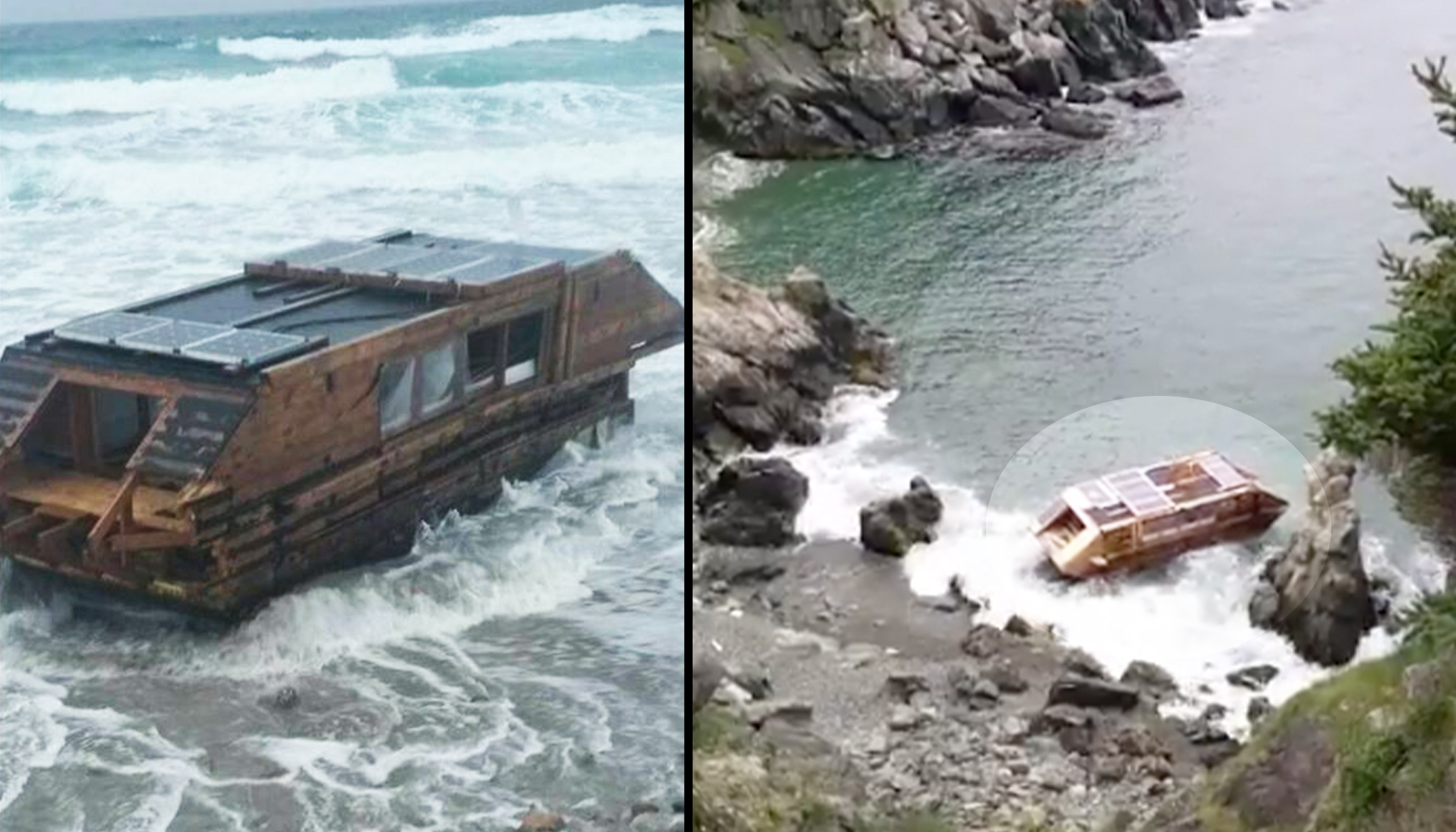 Mysterious Wooden Vessel Washes Ashore in Ireland With a Strange Message Inside