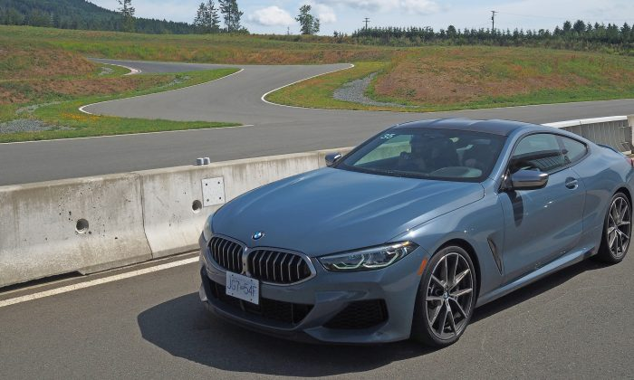 BMW M850i at the BMW Driving Experience event. (By Benjamin Yong)