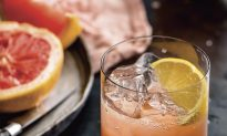 The Blaylock (Honey, Grapefruit, Lemon, and Seltzer)