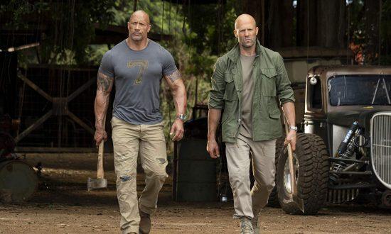 Film Review: 'Fast & Furious Presents: Hobbs & Shaw': Bad Guys Versus Bald Guys