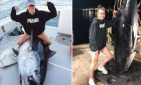 Teen Girl and Dad Reel in Mighty 700-Pound Tuna After 10 Hours of Epic Battle
