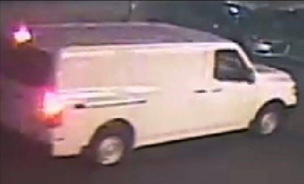 suspect's van